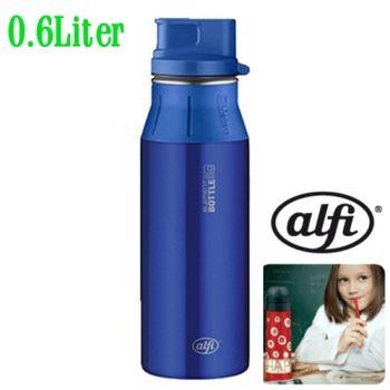 【德國 alfi 】炫水壺-掀蓋式水壺 藍色瓶 600cc