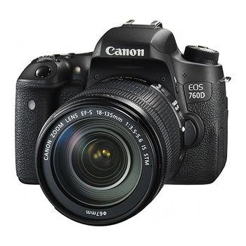 Canon EOS 760D 18-135mm STM 變焦鏡組(公司貨)