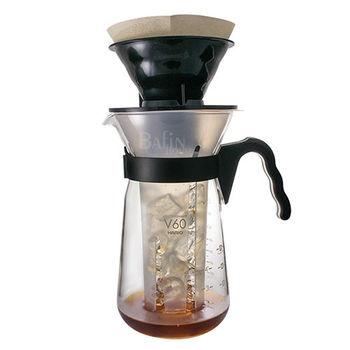 【日本 HARIO】冰熱咖啡沖泡壺700ml / 附濾紙10入 (VIC-02B)