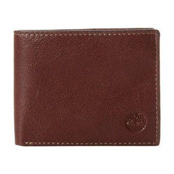 Timberland 2015男時尚Brea雙折深褐色皮夾(預購)