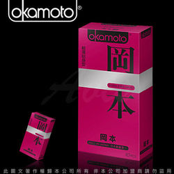 Okamoto岡本 Skinless Skin 輕薄貼身型保險套(10東森購物內衣入裝)