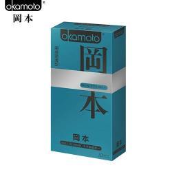 Okamoto岡本 S東森電視購物kinless Skin 潮感潤滑型保險套(10入裝)