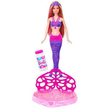 【芭比娃娃系列】芭比泡泡人魚公主 CFF49
