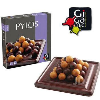 【 法國桌神 Gigamic 益智遊戲 】Pylos Mini 埃及王 迷你版