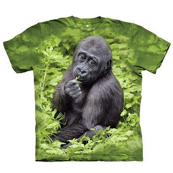 【摩達客】(預購)美國進口The Mountain Smithsonian系列 猩猩Kojo 純棉環保短袖T恤