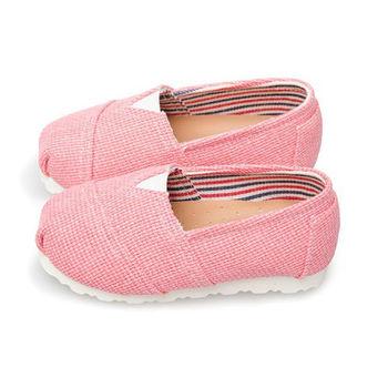 FUFA MIT 純色素面懶人鞋 (FNB02) 粉