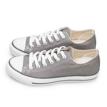 FUFA MIT 低統百搭帆布鞋 (T41) 灰色