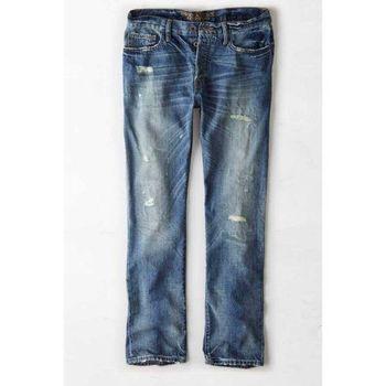 【American Eagle 】2015老鷹低腰直腿破壞工藝牛仔褲(預購)