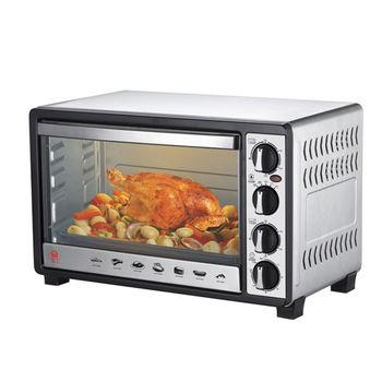 加碼送【晶工】30L雙溫控不鏽鋼旋風烤箱 JK-7300