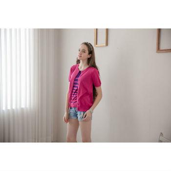 日本impress清涼紗織2件式上衣