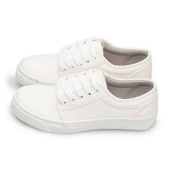 FUFA MIT 素色滑板鞋 (U16) 米色