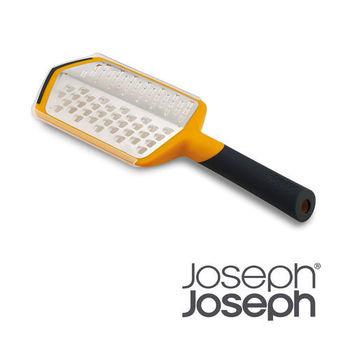 【Joseph 英國創意餐廚】可調式粗細刨片器-黃(附兩用收納盒)20016