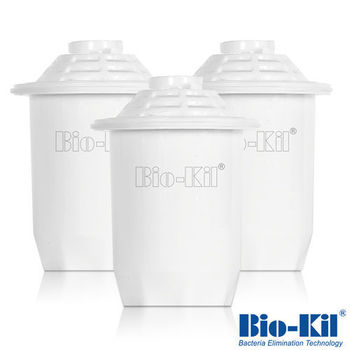 【Bio-Kil】淨水壺專用濾芯3入