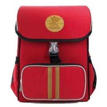 【UNME】輕量日系-人體工學護脊書包(3093紅色)