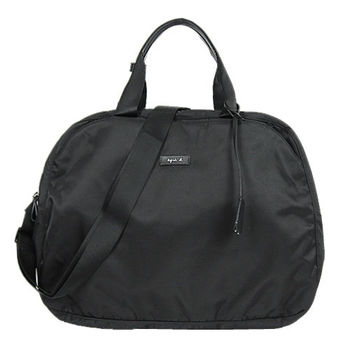 agnes b 圓弧旅行袋(小/黑)