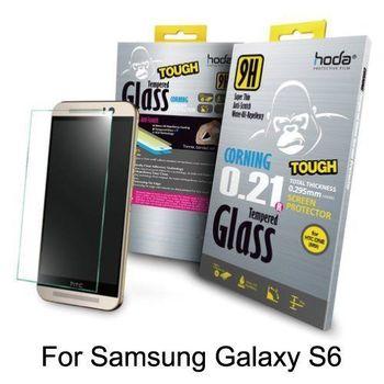 HODA Samsung Galaxy S6 9H康寧玻璃鋼化保護貼 【0.21版】