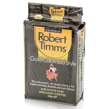 【澳洲第一品牌-Robert Timms】黃金哥倫比亞研磨咖啡-2包組(200g/包)