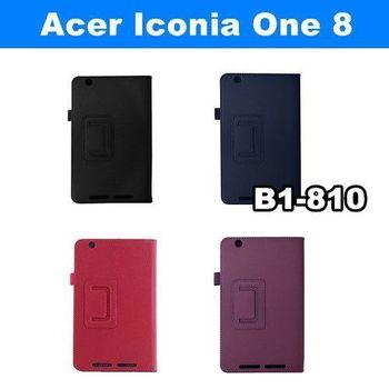 Acer Iconia One 8 B1-810 荔枝紋皮套 專用皮套 平板電腦皮套