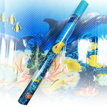 夏天涼爽-海洋3D壁貼-150X58CM(台灣MIT)