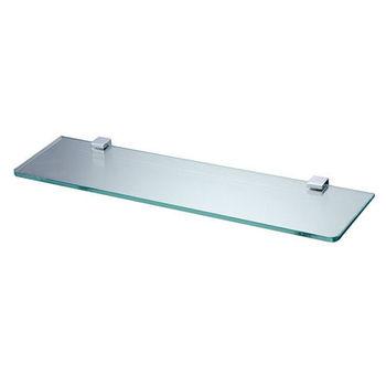 【BACHOR】方銅衛浴配件-化妝平台架(附玻璃平台)