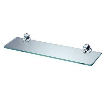 【BACHOR】銅衛浴配件-化妝平台架(附玻璃平台)