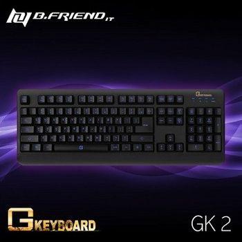 B.FRIEND GK2 超防水 LED 發光 遊戲鍵盤