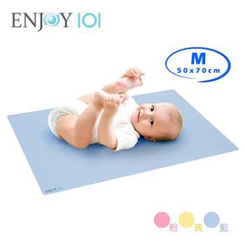 《ENJOY101》矽膠布防蟎止滑防水隔尿墊(尿布墊/保潔墊) - M(50x70cm)