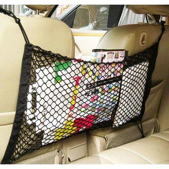 車之語多用途椅背車內置物網-1入
