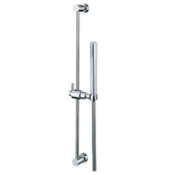 【BACHOR】滑桿-吉圓純銅淋浴滑桿組(含軟管+蓮蓬頭)