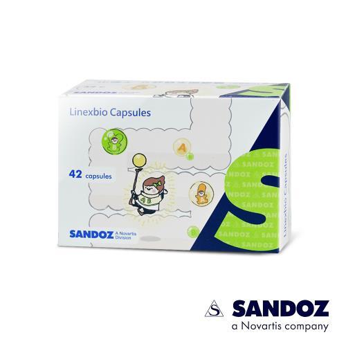 【德國山德士SANDOZ-諾華製藥集團】神益益生菌 (42顆/盒)x1盒
