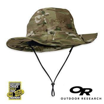 【美國Outdoor Research】經典款Gore-Tex防水透氣防曬可折疊迷彩遮陽帽
