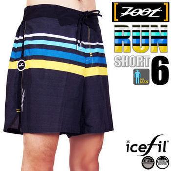ZOOT 頂級冰涼感 綁帶式6吋跑褲(男)
