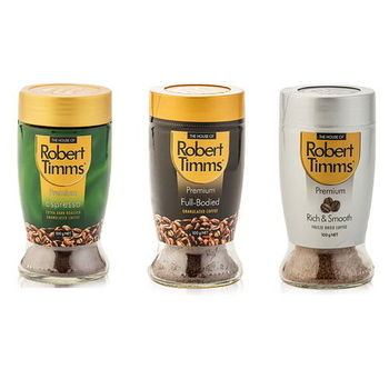 【澳洲第一品牌-Robert Timms】即溶咖啡-體驗3罐組(香醇+義式+經典)