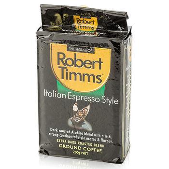 【澳洲第一品牌-Robert Timms】義式研磨咖啡-3包組(200g/包)