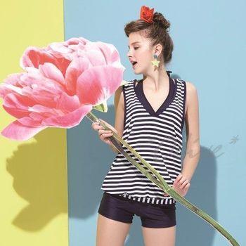 【沙麗品牌】台灣製MIT時尚三件式比基尼泳裝NO.4115(現貨+預購)
