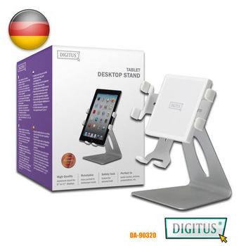 曜兆DIGITUS手機平板IPAD鋁製站立架與牆架8吋到11吋(白色典雅款)