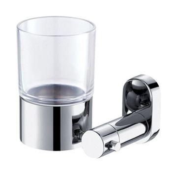 【TAP】衛浴配件-亮面不鏽鋼牙杯架