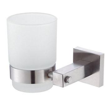 【TAP】衛浴配件-霧面不鏽鋼牙杯架