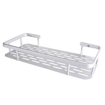 【TAP】衛浴配件 太空鋁-單層置物架