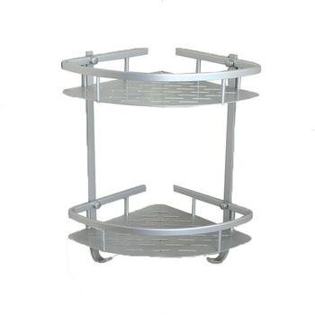 【TAP】衛浴配件 太空鋁-雙層角落架