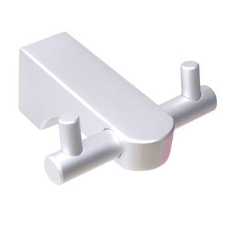 【TAP】衛浴配件 太空鋁-雙衣勾