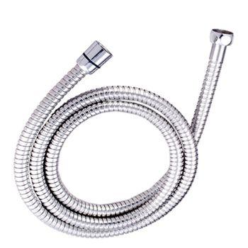 【Aberdeen】蓮蓬頭配件-150cm不鏽鋼淋浴導水雙鉤軟管
