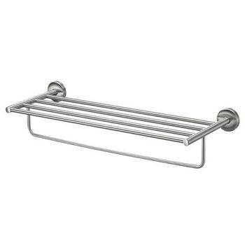 BOSS 不鏽鋼衛浴配件-置衣+毛巾架