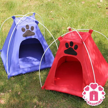 【愛逛街】防水可折疊寵物帳篷1入