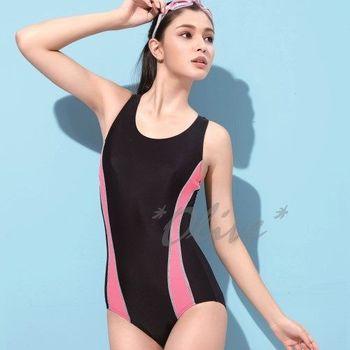 【沙麗品牌】台灣製MIT時尚三角連身泳裝NO.4102(現貨+預購)