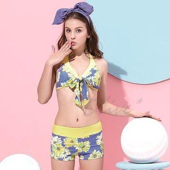 【沙麗品牌】台灣製MIT時尚二件式比基尼泳裝NO.4119(現貨+預購)