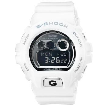 CASIO 日系卡西歐G-SHOCK鬧鈴電子錶-白 / GD-X6900FB-7