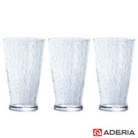 ~ADERIA~ 泡泡玻璃杯385ml #40 3入組 #41