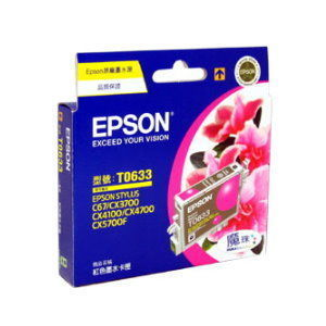EPSON 原廠墨水匣 T063350 (紅)