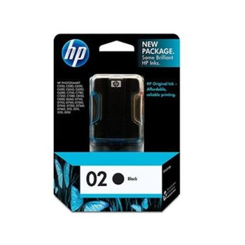 HP C8721W NO.02 原廠黑色墨水匣